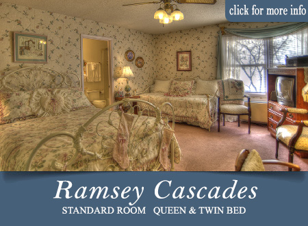 Smoky Mountain bed and breakfast - Ramsey Cascades