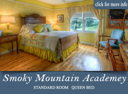Sevierville bed and breakfast room - Smoky Mountain Academey