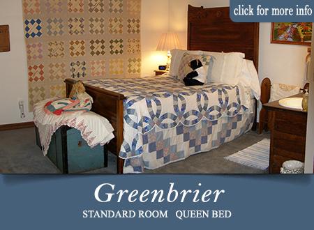 Sevierville B&B Room - Greenbrier