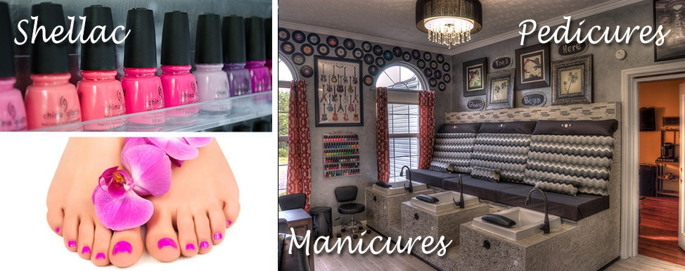 Manicures and Pedicures at Smoky Mountain Spa